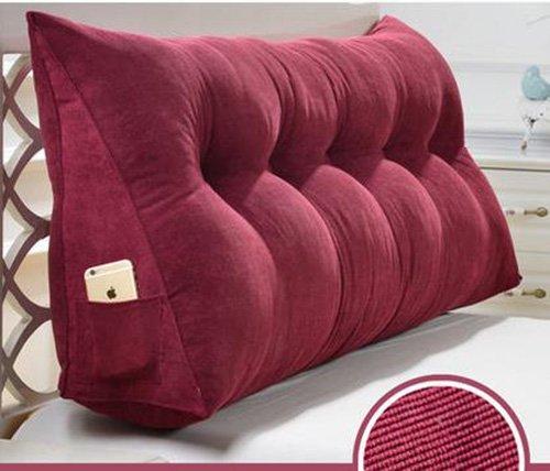 Tridimensionales cojines triangulares, Gran tridimensional tridimensional lavable cama cabecero cojines Sofás tapizados grandes respaldo Cojines ...