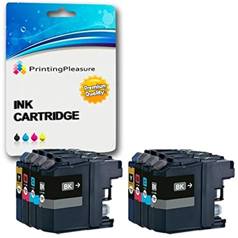 5 Cartuchos de Tinta compatibles para Brother DCP-J562DW, MFC ...