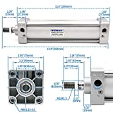 Baomain Pneumatic Air Cylinder SC 63 x 200 PT