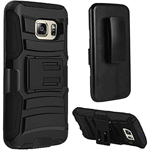 HR Wireless Carrying Case for Samsung Galaxy S7 - Retail Packaging - Black/Black Sales