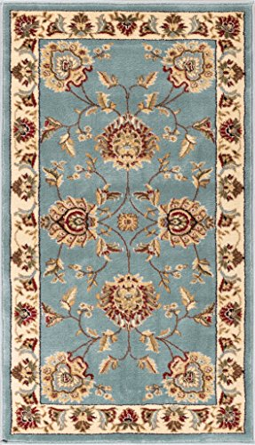 Sultan Sarouk Light Blue Oriental 2x 4 (2'3