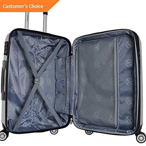 Amazon.com | Sandover World Traveler Adventure 3 Piece Hardside Spinner gage Set NEW | Model LGGG - 4368 | | Luggage Sets
