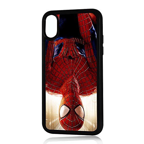 ( For iPhone X ) Durable Protective Soft Back Case Phone Cover - A11039 Spiderman