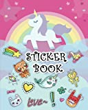Best Sticker Books - Sticker Book: Ultimate Blank Sticker Book for Kids Review