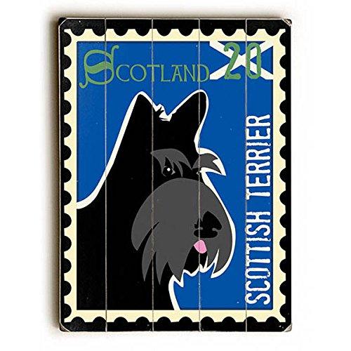 Scottish Terrier Postage Stamp by Artist Ginger Oliphant 9