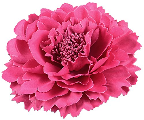 Hair Flower Clips Brooch Boutique Hair Accessories Bohemia Hairpins for Women Girls (Rose)
