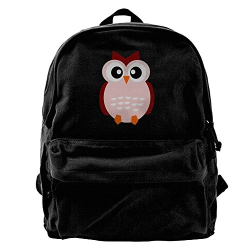 Cute Animal Cartoon Fall Owl Unisex Classic Water Resistant School Rucksack Travel Backpack Laptop by WEINFUN