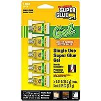 Super Glue 15176-12 Glue Gel Single Use Minis Tubes , 5g by Super Glue