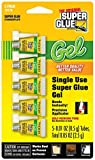 Super Glue 15176-12 Glue Gel Single Use Minis Tubes , 5g by Super Glue