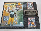 Green Bay Packers Reggie White 2 Card Collector Plaque Hall of Fame w/8x10 Photo