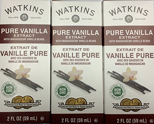 (Watkins Pure Vanilla Extract with Madagascar Vanilla Beans (3 Pack))