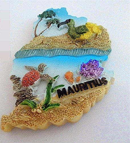 mauritius fridge magnet - 2