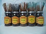 WILDBERRY Incense Sticks Fresh & Clean Scents Set #2: 20 Sticks Each of 5 Scents, Total 100 Sticks!