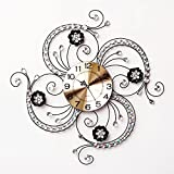RFVBNM Classic patterns QUARTZ CLOCKS Wall Clock Drawing creative continental modern minimalist decor personality mute clock art hang 6060cm Table