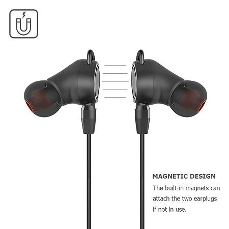 Amazon.com: Auriculares Bluetooth V4.2, Auriculares de ...