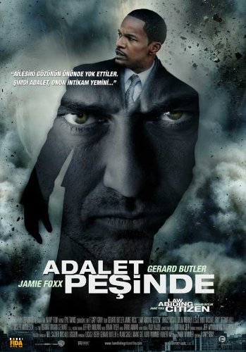 Law Abiding Citizen Movie Poster (27 x 40 Inches - 69cm x 102cm) (2009) Turkish -(Gerard Butler)(Michael Gambon)(Leslie Bibb)(Josh Stewart)(Jamie Foxx)(Viola Davis) (Jamie Foxx And Gerard Butler Law Abiding Citizen)