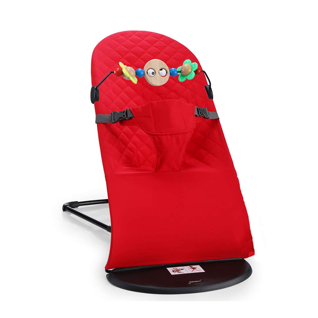 Bouncer Balance Soft, Baby Chair The Children's Bouncing Cradle (6 colors,Cotton) (Color : F)