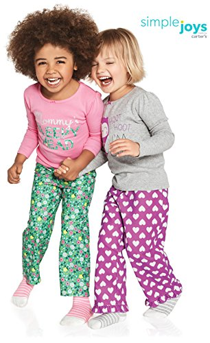Simple Joys by Carter's Girls Toddler 4-Piece Pajama Set