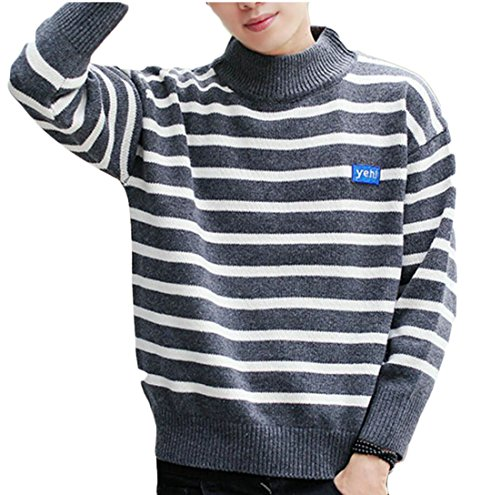 Sweater Long Men's Neck M Half Sleeve amp;S Pullovers Casual Turtle 6 amp;W vqx4gwAWxZ