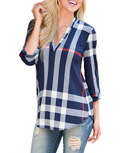 Mansy Womens Casual Sleeve Pullover