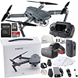 DJI Mavic Pro Collapsible Quadcopter + DJI Goggles Virtual Reality VR FPV POV (Racing Edition) Experience Starter Bundle