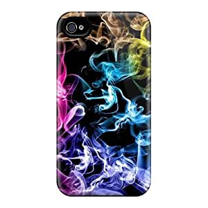 6Plus Iphone 4/4s Hybrid Tpu Case Cover Silicon Bumper Colored Smoke