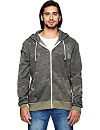 Alternative Men's Rocky Zip Hoodie Sweatshirt