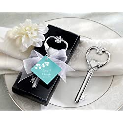 Wedding Favors Key to My Heart Victorian Style Bottle Opener by Kateaspen