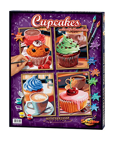 Schipper Cupcakes Paint by Number