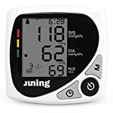 Digital Blood Pressure Monitor - JUNING BP102B FDA Approved Automatic Accurate Wrist Blood Pressure Monitor with IHB Indicator, Two User Modes, 2*60 Memories, Adjustable Wrist Cuff and Portable Case