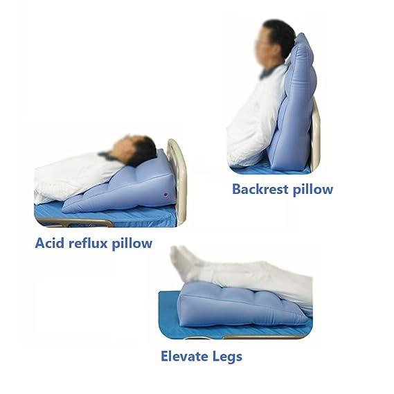 Almohada hinchable cuña posición corporal reflujo ácido ...