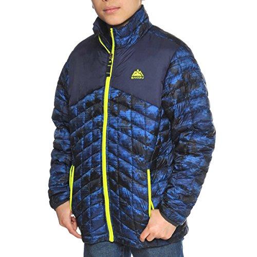 - Snozu Lightweight Glacier Shield Quilted Jacket for Boys (Blue, X-Small/5-6)