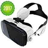 Owl BOBOVR Z4 with HEAD STRAP AND HEADPHONES - High quality Google Cardboard VR Headset for 4.7-6 inch smartphones iPhone, Samsung Galaxy