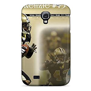 Bumper Hard Cell-phone Case For Samsung Galaxy S4 (alO15616gUHO) Provide Private Custom Trendy New Orleans Saints Pattern