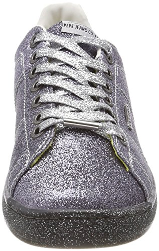Pepe Silver Jeans Femme Basses Argent Sneakers Part Brompton rrw0nFqC
