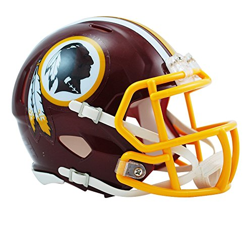 (NFL Washington Redskins Revolution Speed Mini Helmet)