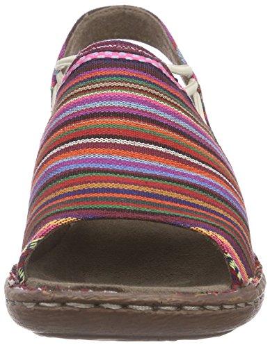 Jenny Korsika - sandalias cerradas Mujer Varios Colores - Mehrfarbig (multi 07)