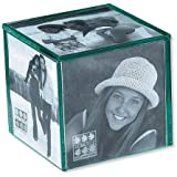 Sixtrees Glass 4-Inch by 4-Inch Cube Frame