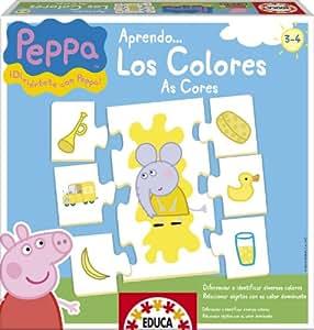 Educa - Juegos educativos Peppa Pig aprendo los colores (15653)