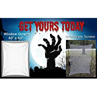 Hallowen Hologram And Window Screen For Your Ghostly Effects and Apparitions