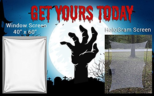 (Hallowen Hologram And Window Screen For Your Ghostly Effects and)