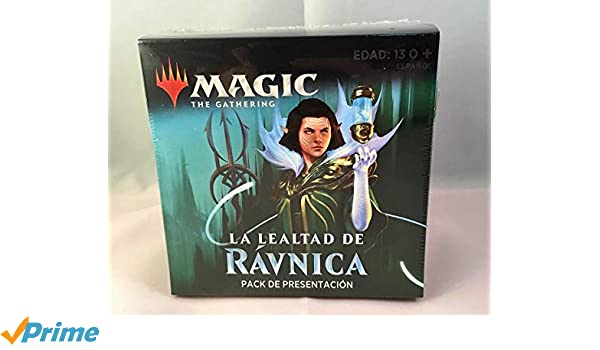 Caja Magic la Lealtad de ravnica (simic)  Pack de ...