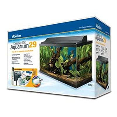Aqueon Deluxe Kit 29 Gallon Aquarium