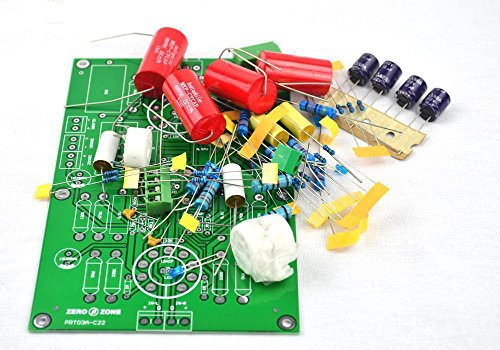 PRT-03A Hifi Stereo Tube preamp kit base on C22 preamplifier Circuit ( No tubes by JINGLUYAO