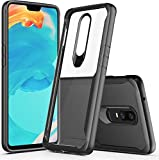 Amozo Shockproof Air Cushion Back Cover with All Sides Protection for OnePlus 6(Transparent)