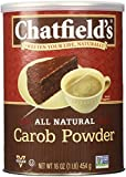Chatfields Carob Powder, Unsweetened, 16 Ounce
