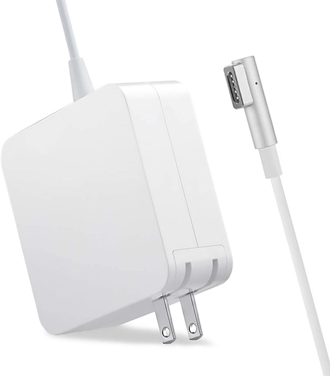 Compatible with MacBook Pro Charger, 85W 1 L-Tip Power Adapter Charger Replacement Cord for Mac Book Pro 13 15 and 17 inch Connector (Compatible with Models Before Mid 2012)