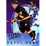 Pavel Bure Hockey Card 1992-93 Ultra Import #2 Pavel Bure