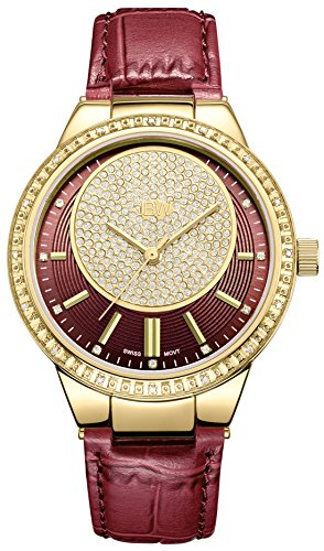 JBW Women's J6345A Camille 0.16 ctw 18k gold-plated stainless-steel Diamond Watch