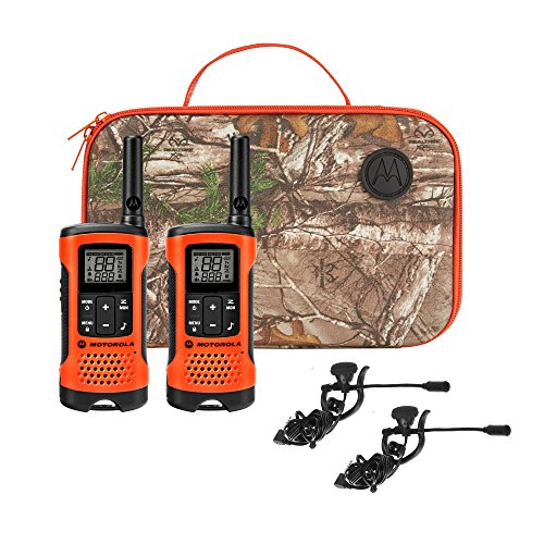 Motorola Talkabout T265 Rechargeable Two-Way Radio Bundle – Orange
